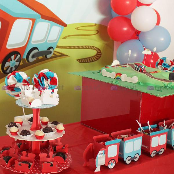 Birthday Party Decoration - Train Theme