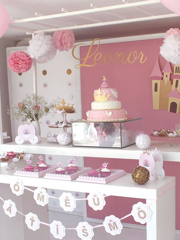 Christening Decoration - Princess Theme