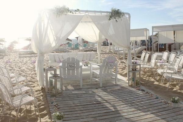 Wedding Decoration - Beach Theme